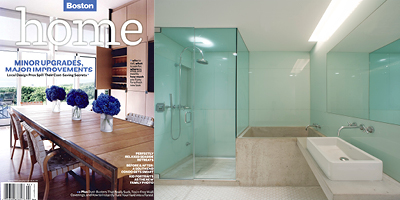BosHomeSpring2009 Jenks Residence Published in Boston Home
