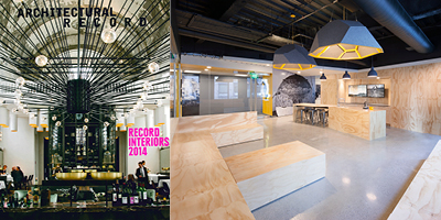 Arch Record Sept 2014 MIT Beaver Works Published in Architectural Record / Record Interiors Issue