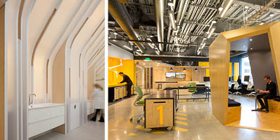 BSA Interior Awards July 2015 Merge Wins Two BSA / AIA Interior Architecture Awards