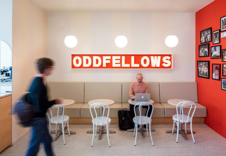 Oddfellows 04 726x500 OddFellows Ice Cream Parlor
